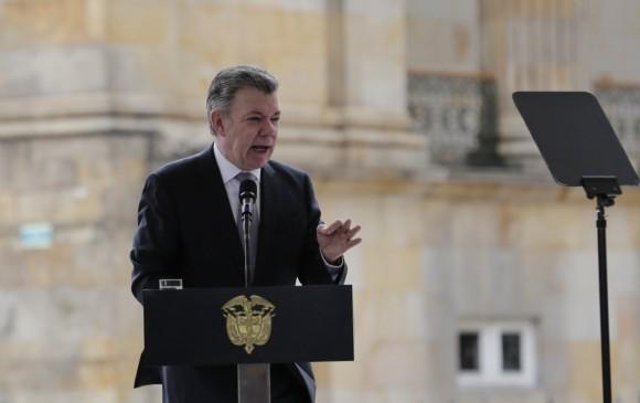 Santos apoya reforma pensional de Duque.