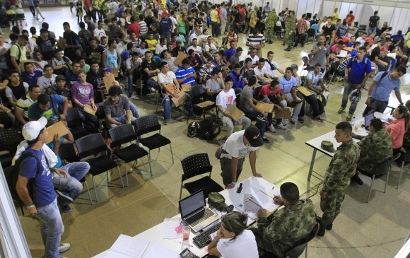 Hoy comienzan jornadas de definición de situación militar en Medellín.