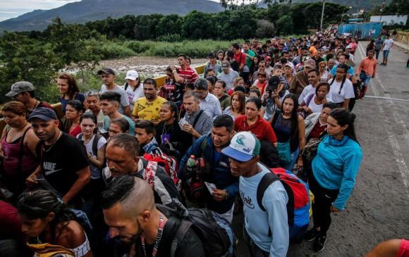 Venezolanos sienten alivio tras reapertura de frontera
