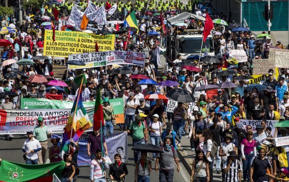 Este martes, nueva jornada de movilizaciones del paro nacional en Medellin