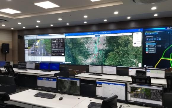 Medellín estrena centro integrado para controlar el tráfico vehicular