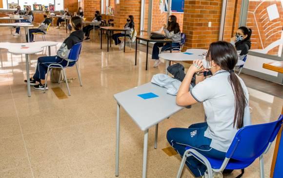 Así reiniciarán las clases en alternancia en Medellín